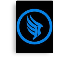 Mass Effect - Good Karma Symbol Canvas Print