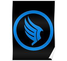Mass Effect - Good Karma Symbol Poster