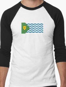 Flag of Vancouver  Men's Baseball ¾ T-Shirt