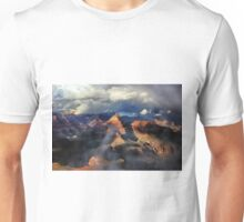 Clouds Part Over the Canyon Unisex T-Shirt
