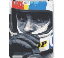 Francois Cevert Helmet iPad Case/Skin