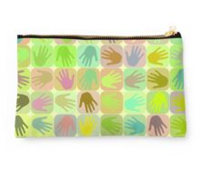 Multicolored hands pattern Studio Pouch