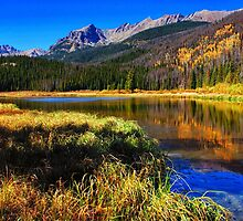 Autumn Reflections by Brian Kerls  photography