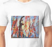 Three Dancers and a Dog  Unisex T-Shirt