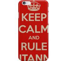 Rule Britannia iPhone Case/Skin