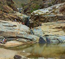 Bear Canyon, Arizona - Seven Falls by Timothy  Ruf