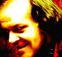 Horror Icons: Jack Torrance - The Shining by darkvisionsart