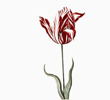 Red & White Tulip Unisex T-Shirt