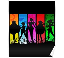 Pretty Guardian Sailor Moon - All the Sailors Poster