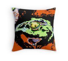 Eagle eye abstract modern Throw Pillow