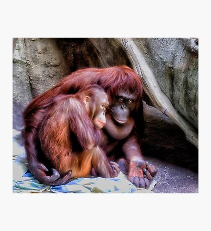 Mother and Child Photographic Print