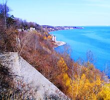 The Scarborough Bluffs...Toronto, Ontario, Canada by Paul Rees-Jones