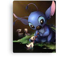 Lilo & Stitch - Stitch Cute Portrait  Canvas Print