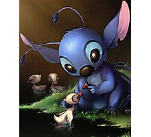 Lilo & Stitch - Stitch Cute Portrait  Photographic Print
