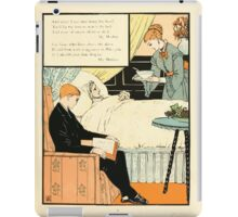 The Buckle My Shoe Picture Book by Walter Crane 1910 75 - And When I see Thee Hang They Head iPad Case/Skin