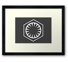 The First Order Framed Print