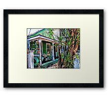 Eclectic Key West Framed Print