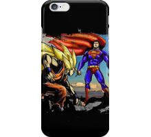 Dragon Ball Ft Superman - Epic Battle iPhone Case/Skin