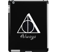Deathly Hallows' Always iPad Case/Skin