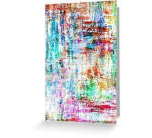Rusty Color Greeting Card