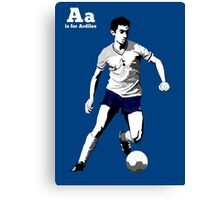 A is for Ardiles  Canvas Print