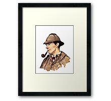 Victorian Sherlock Framed Print