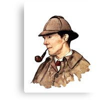 Victorian Sherlock Canvas Print