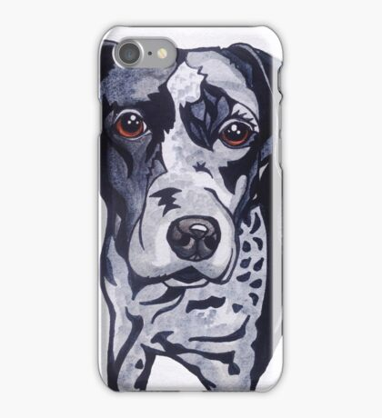 #3: The Catahoula Leopard Dog: Messages from the Dogs Oracle Deck iPhone Case/Skin