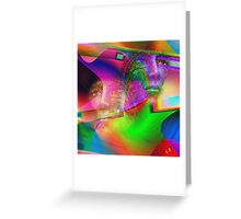 """"""" The voice is a second face. """" Greeting Card"""