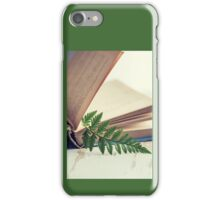 Leafy Bookmark iPhone Case/Skin