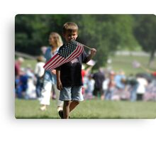 Future Patriot Metal Print