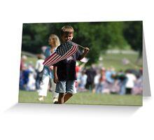 Future Patriot Greeting Card