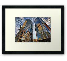 Denver World Trade Center Framed Print
