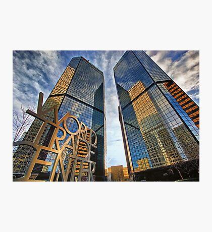Denver World Trade Center Photographic Print