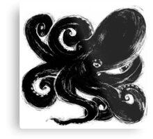 Inktopus - Sumi Octopus Metal Print