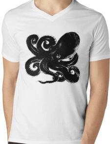 Inktopus - Sumi Octopus Mens V-Neck T-Shirt