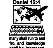 DANIEL 12:4  the Global Village by Calgacus