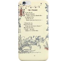 The Old Garden and Other Verses by Margaret Deland and Wade Campbell, Illustrated by Walter Crane 1894 65 - The Bluebell iPhone Case/Skin