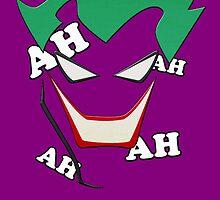 Batman - Joker AH AH AH by TylerMellark