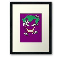 Batman - Joker AH AH AH Framed Print