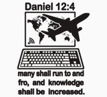 DANIEL 12:4  the Global Village One Piece - Long Sleeve
