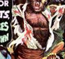 Famous Monster Tshirt Sticker