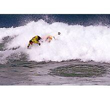 Joel Parkinson wins 2009 Rip Curl Pro at Bells Beach Photographic Print