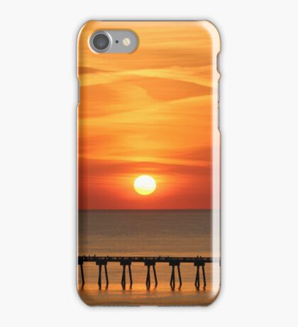 fiery sun iPhone Case/Skin