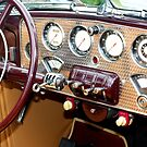 1936 Cord 810 Dashboard by AuntDot