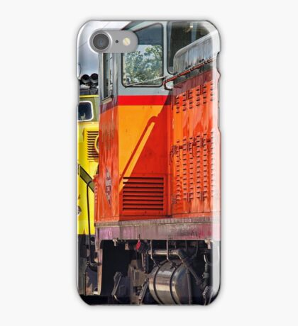Vintage Locomotives iPhone Case/Skin