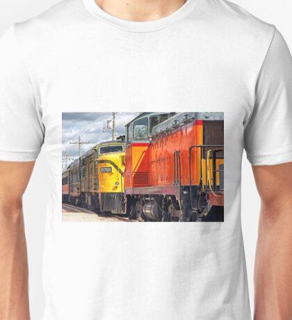 Vintage Locomotives Unisex T-Shirt