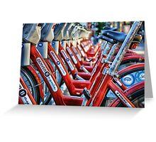 Denver B Cycles Greeting Card