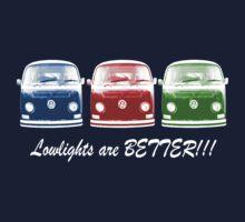 Lowlights are BETTER!! Kombi Shirt - Blue, Red, Green by melodyart