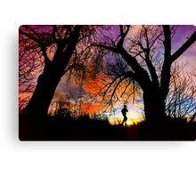 Connie's Sunrise Run Canvas Print